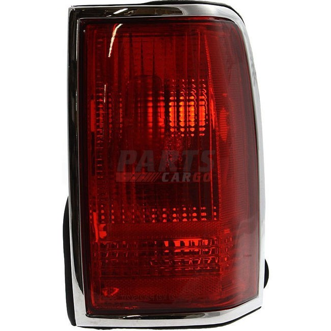 New Tail Light Lens And Housing Rear Rh Fits 90