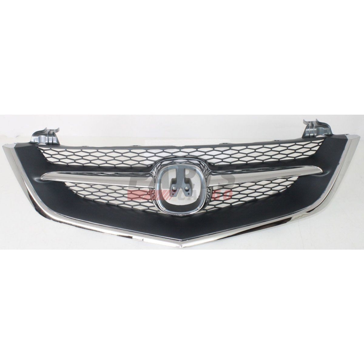 NEW FRONT GRILLE CHROME SHELL W/ BLACK INSERT FITS 2002-03