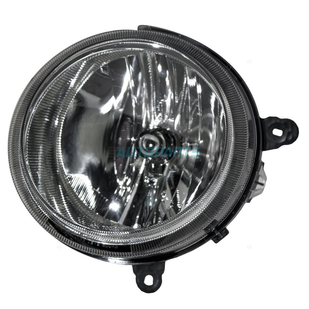 NEW LH HALOGEN HEADLAMP ASSEMBLY W/O LEVELING FITS 07-17 JEEP PATRIOT CH2502176