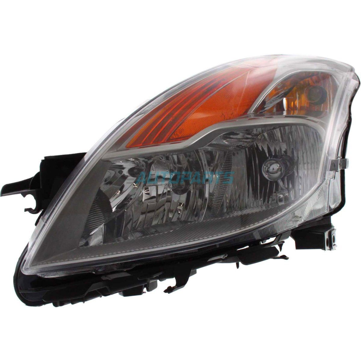 NEW LEFT HALOGEN HEAD LAMP ASSEMBLY FITS 2008-09 NISSAN ALTIMA COUPE NI2502176