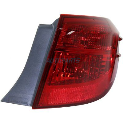 Details About New 2017 Fits Toyota Corolla Tail Light Right Penger Side To2805131