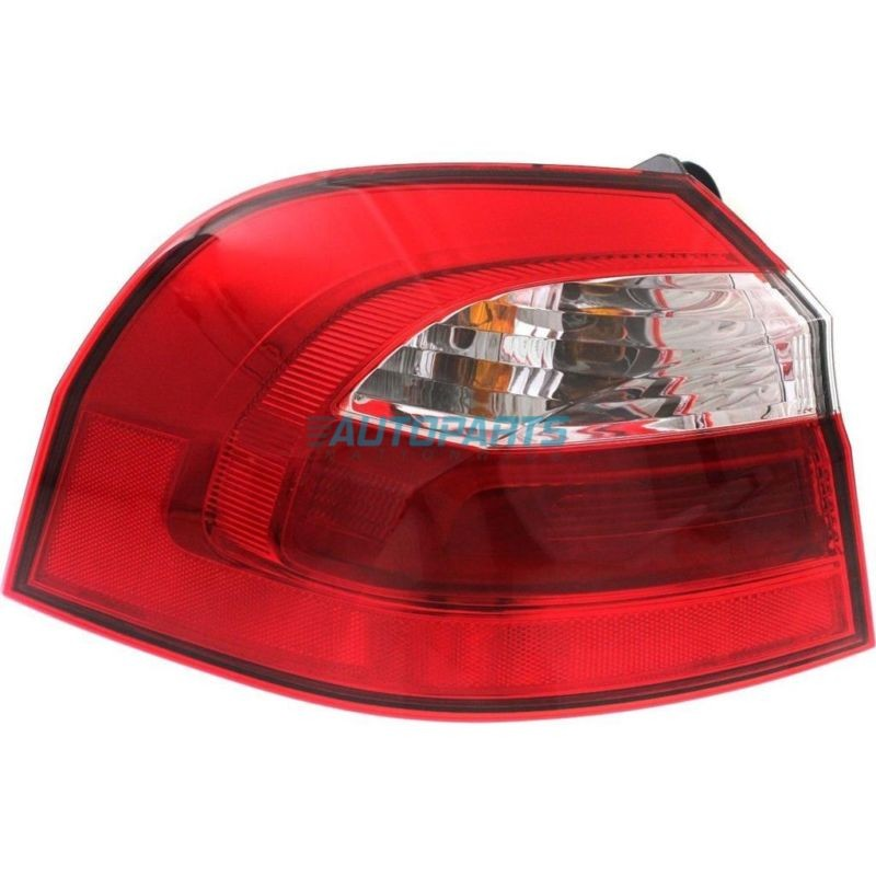 New Left Outer Tail Light Assembly Fits 2012 2017 Kia Rio