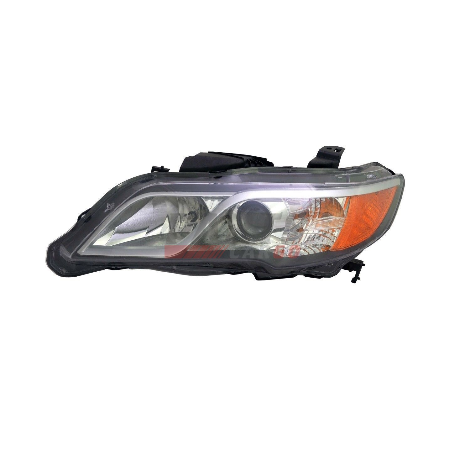 NEW HID HEAD LIGHT LENS AND HOUSING LEFT FITS 2013-2015