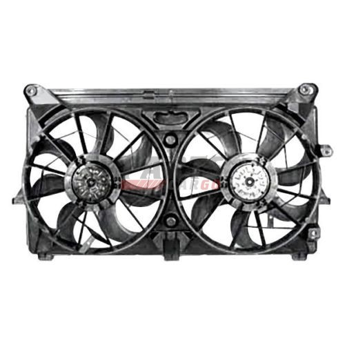 NEW DUAL FAN ASSEMBLY FITS 2007-2014 CADILLAC ESCALADE ESV