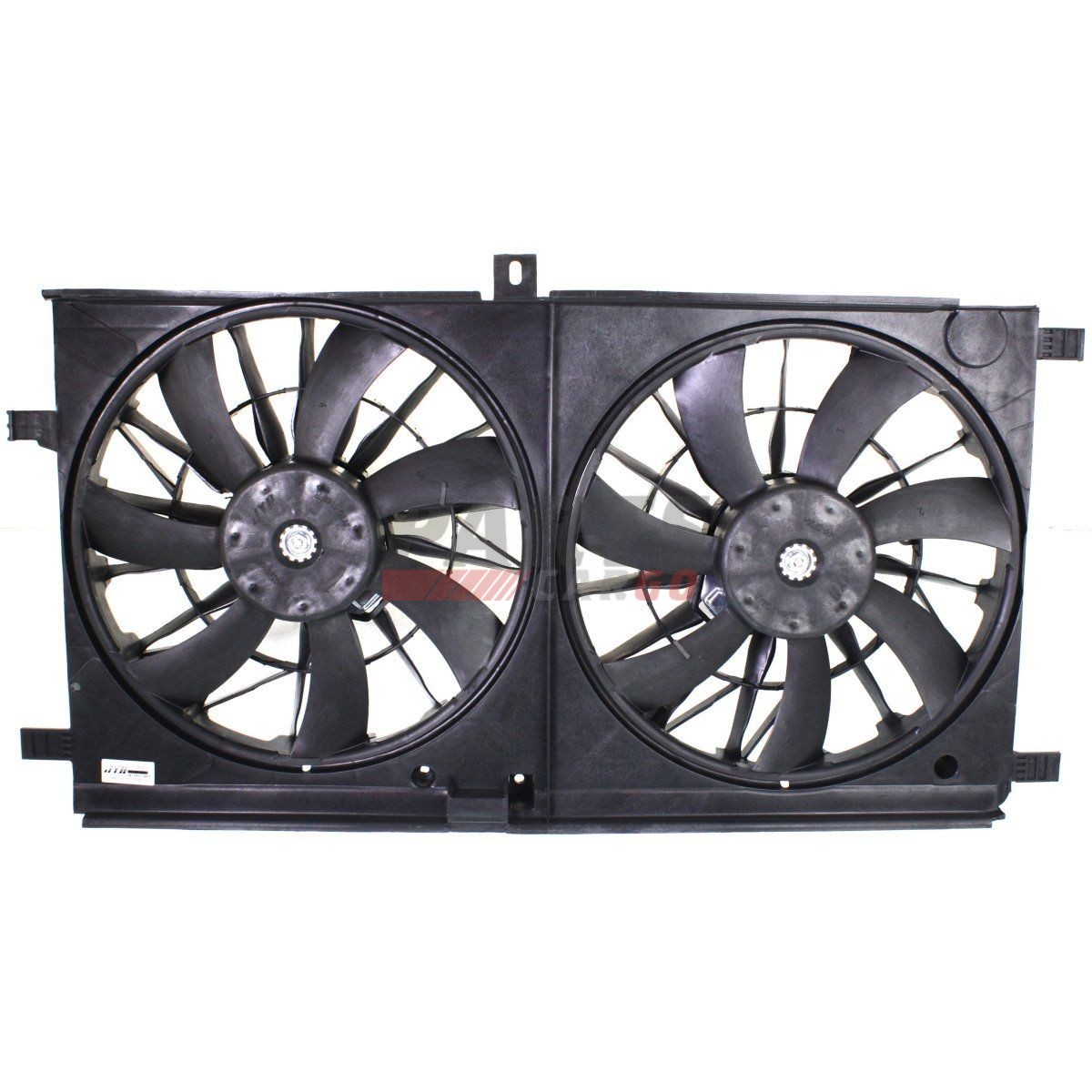 NEW FRONT RADIATOR FAN ASSEMBLY CH3115163 FITS 2007-2016 DODGE JEEP 68031871AA