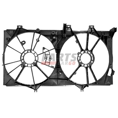 New Radiator Fan Shroud Fits 2012 2016 Toyota Camry 167110p200