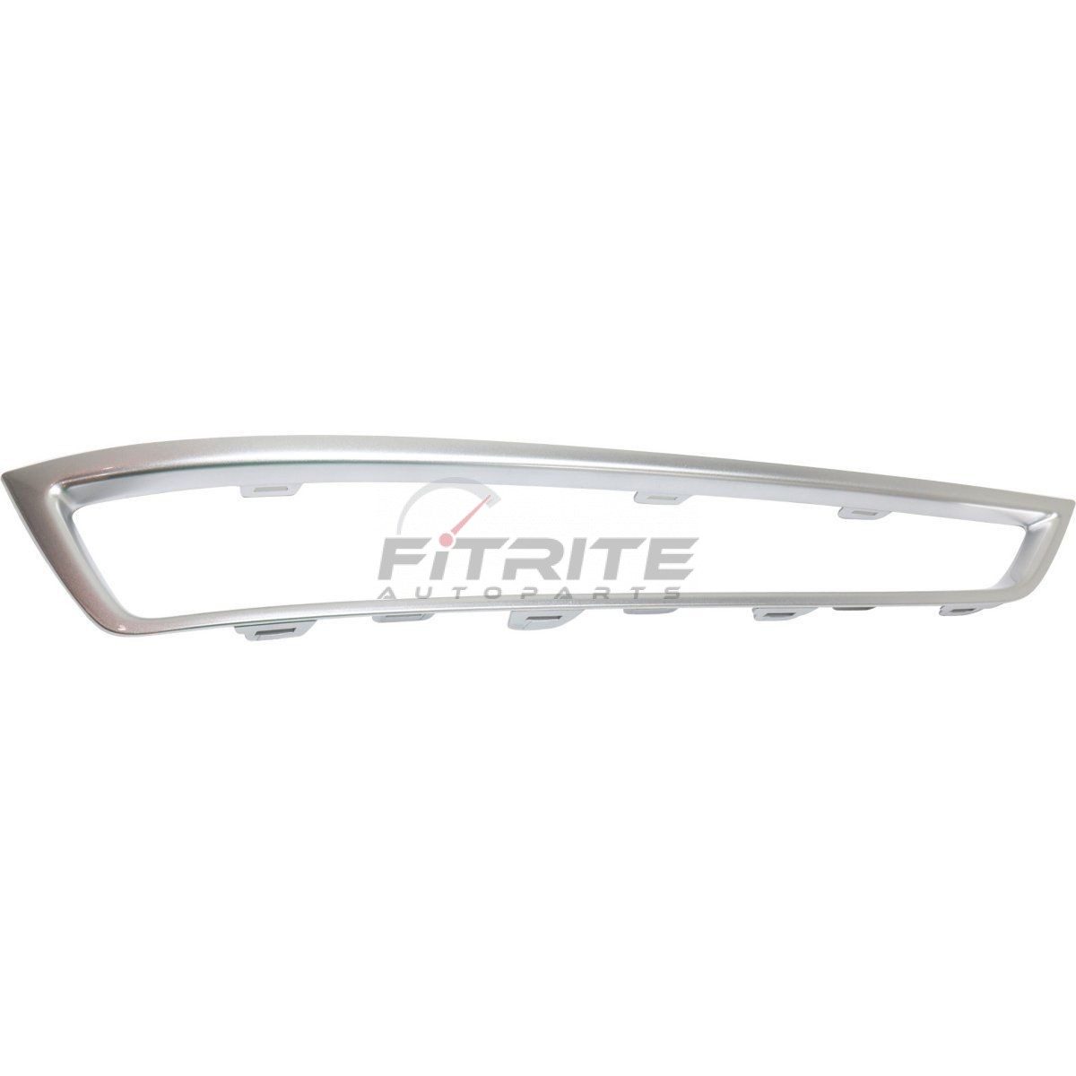 Left Front Bumper Cover Grille Molding Plastic For 2010-13