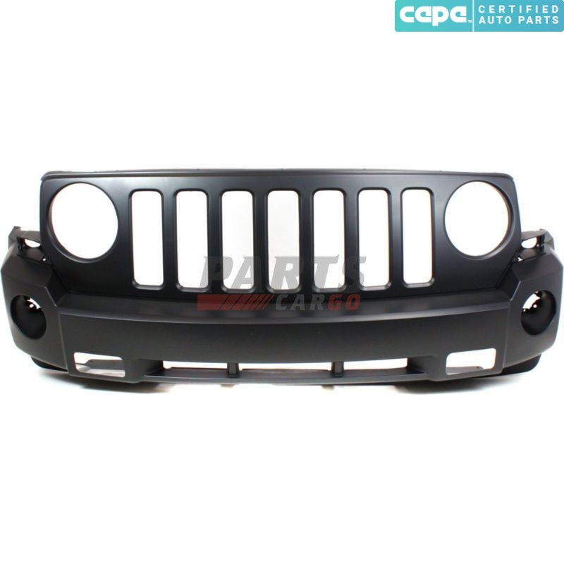 CAPA Certified Front BUMPER COVER Primed for 2007-2010 Jeep Patriot