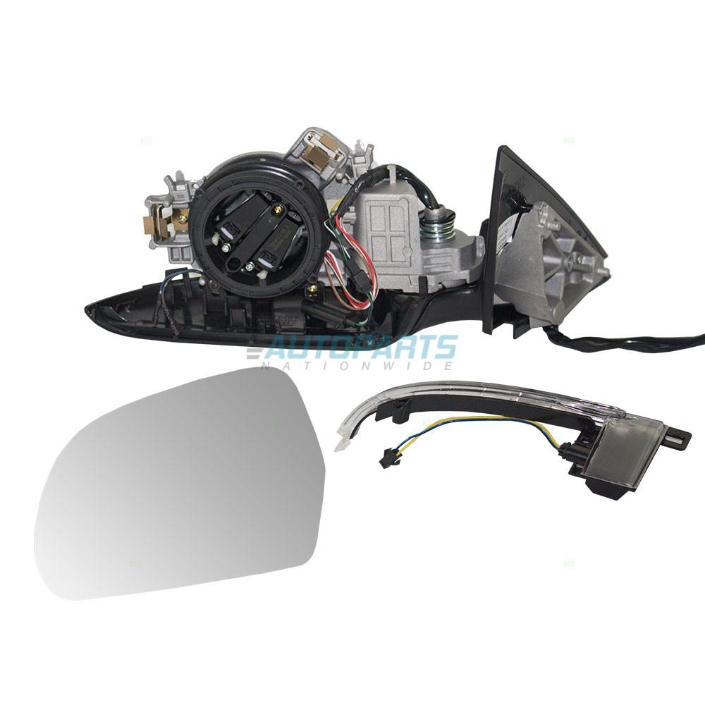 OTS LEFT POWER MIRROR MANUAL FOLDING FITS 2009-2013 AUDI A3 AU1320109