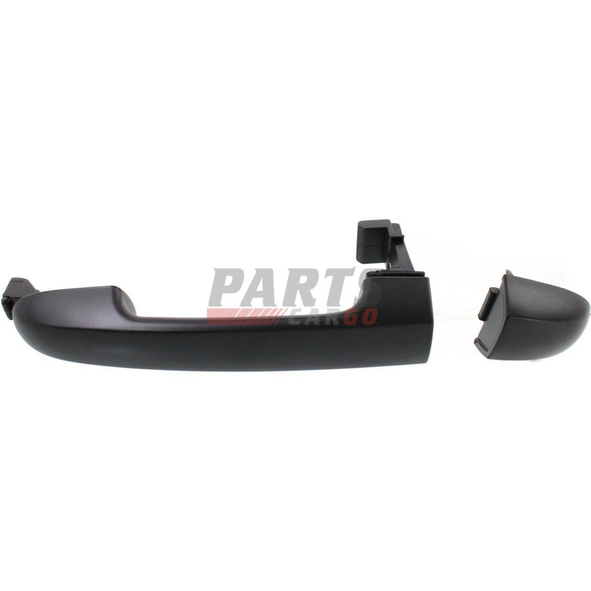 Outside Door Handle Rear Cargo Black Front Left or Right