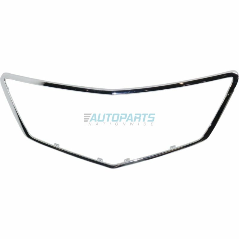 NEW GRILLE FRAME CHROME GRILLE OUTLINE TRIM FITS 2016-2018