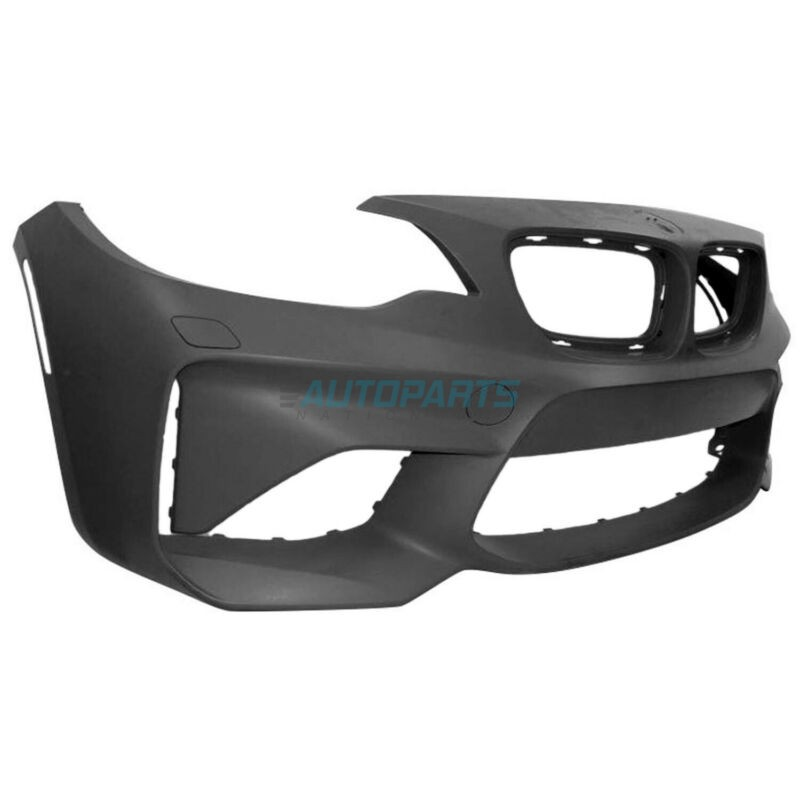 NEW FRONT BUMPER COVER PRIME FINISH FITS 2016-2018 BMW M2