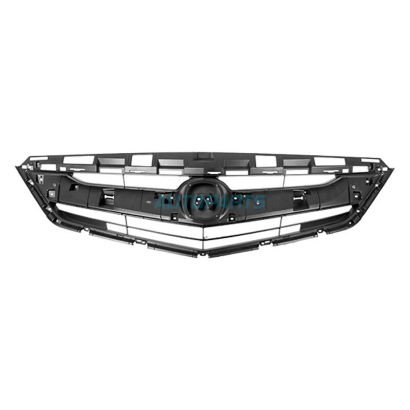 NEW FRONT GRILLE BLACK BASE FITS 2016-2017 ACURA ILX
