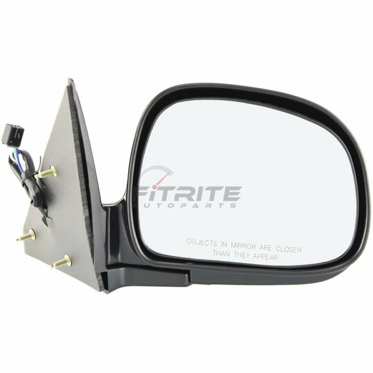 Right Side Power Mirror Manual Folding Non-Heated For 1998-2005 Chevrolet Blazer