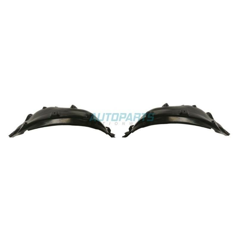 NEW SET OF TWO FRONT FENDER LINER FITS 1999-2003 MERCEDES-BENZ ML320