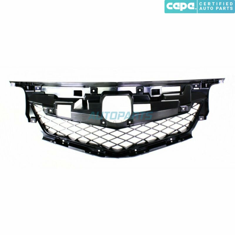AC1202100C Grille Frame Matte Black Made Of Plastic Fits