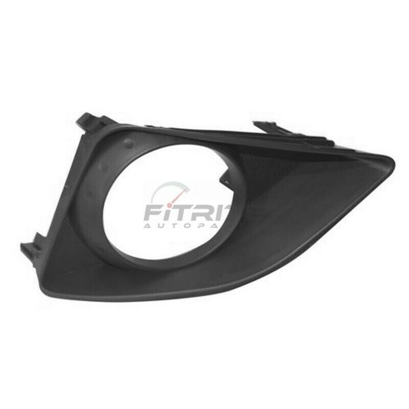 I-Match Auto Parts Left Driver Side Fog Lamp Hole Cover Bezel Replacement For 2001-2002 Toyota Corolla TO1038102 5212802010 Black