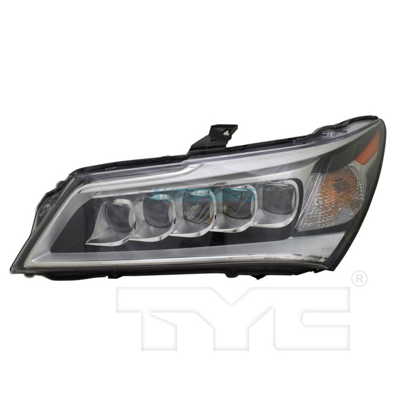New TYC NSF Left Side Headlight Assembly Fits 2014-2016