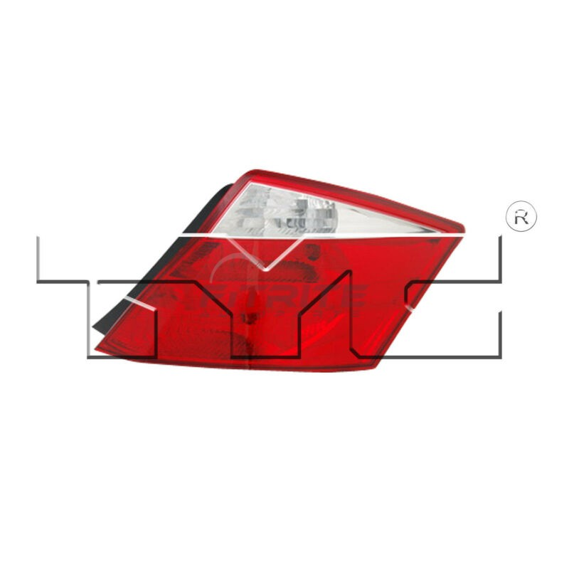 New TYC NSF Left Side Tail Light Assembly For 2008-2010