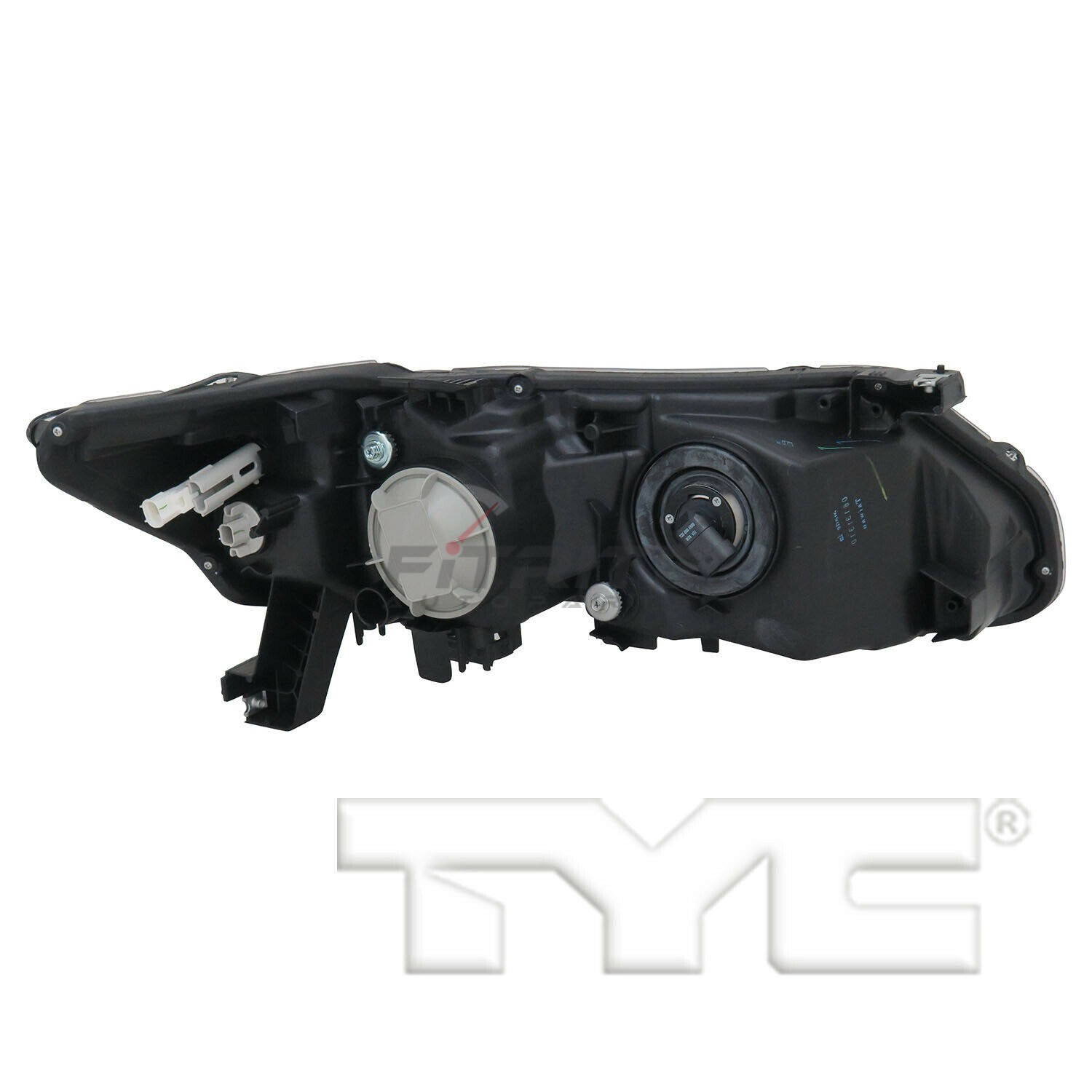 New TYC NSF Left Headlight Assembly Plastic For 2013-2015